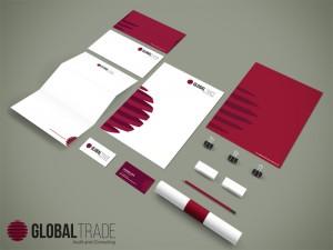 Identidade Visual Global Trade