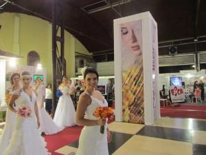 Ambientação na Expo Glamour Noivas e Debutantes 2013