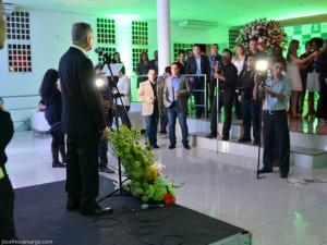 Evento de apresentação da marca Eder Mello